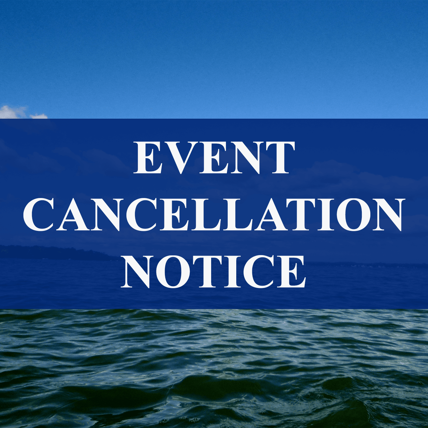 EVENT CANCELLATION NOTICE 2